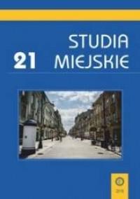 Studia Miejskie. Tom 21 - okładka książki