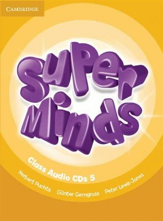 Super Minds 5 Class (CD) - okładka podręcznika