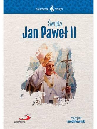 Święty Jan Paweł II. Seria: Skuteczni - okładka książki