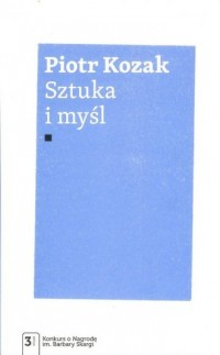 Sztuka i myśl - okładka książki