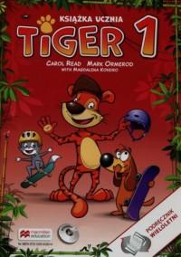 Tiger 1. Szkoła podstawowa. Książka ucznia (+ CD) - okładka podręcznika