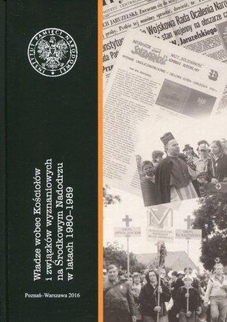 Władze wobec Kościołów i związków - okładka książki