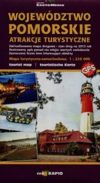 Województwo pomorskie - atrakcje turystyczne - okładka książki