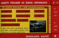 Zeszyt ćwiczeń do nauki ortograffi - okładka podręcznika