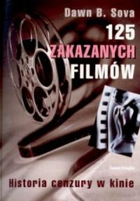 125 zakazanych filmów - okładka książki