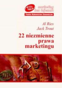 22 niezmienne prawa marketingu - okładka książki