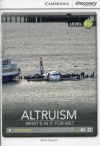 Altruism. Whats in it for Me? Intermediate - okładka podręcznika