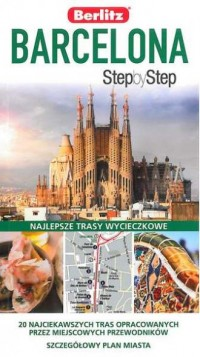Barcelona. Step by step - Roger - okładka książki