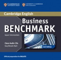 Business Benchmark. Upper Intermediate BULATS Class Audio CDs (2) - pudełko audiobooku