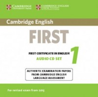 Cambridge English. First 1 for Revised Exam from 2015 Audio CDs (2) - pudełko audiobooku