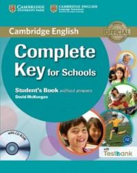 Complete Key for Schools. Students - okładka podręcznika