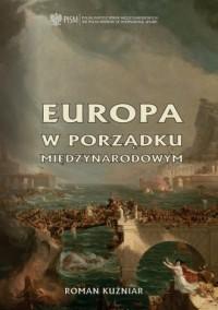Europa w porządku międzynarodowym - okładka książki