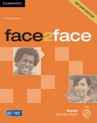 face2face. Starter. Teachers Book with DVD - okładka podręcznika