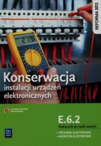 Konserwacja instalacji urządzeń - okładka podręcznika