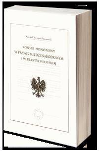 Konsul honorowy w prawie międzynarodowym - okładka książki