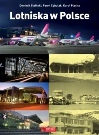 Lotniska w Polsce - okładka książki