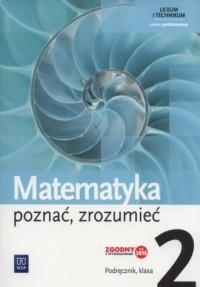Matematyka poznać zrozumieć 2. - okładka podręcznika