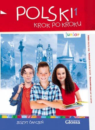 Polski 1 krok po kroku - junior. - okładka podręcznika