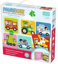 Pojazdy i zawody (puzzle 12-elem.) - zdjęcie zabawki, gry