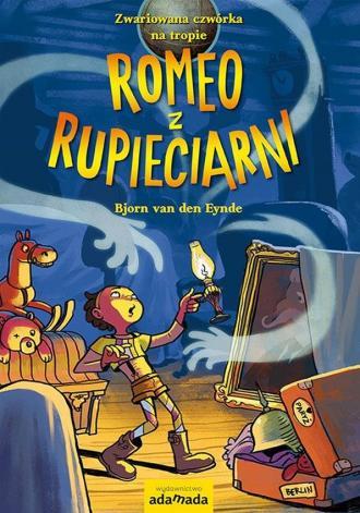 Romeo z rupieciarni - okładka książki