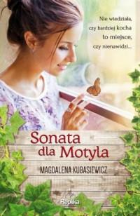Sonata dla Motyla - okładka książki