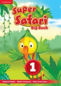 Super Safari. Level 1. Big Book - okładka podręcznika