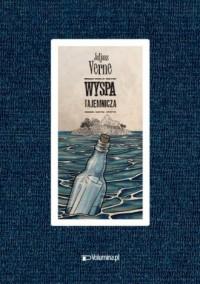 Tajemnicza wyspa - okładka książki