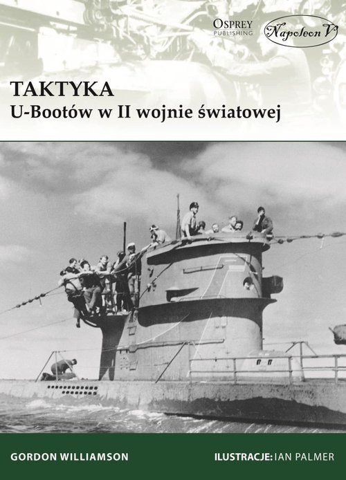 Taktyka U-Bootów w II wojnie światowej - okładka książki