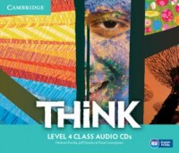 Think. Level 4. Class Audio CDs - pudełko audiobooku
