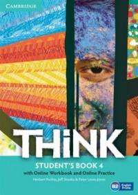 Think. Level 4. Students Book with - okładka podręcznika