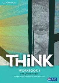 Think. Level 4. Workbook with Online - okładka podręcznika