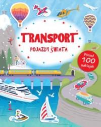 Transport. Pojazdy świata. Poznaję świat (+ naklejki) - okładka książki