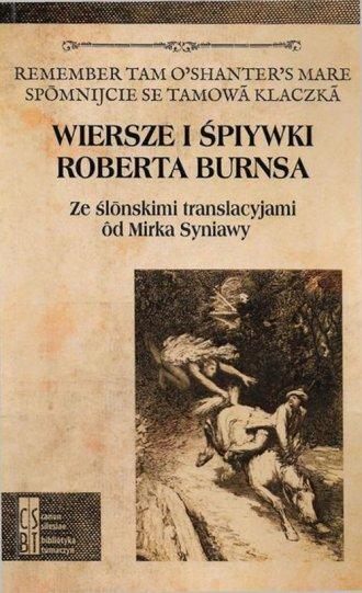 Wiersze i śpiywki Roberta Burnsa. - okładka książki