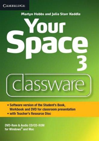 Your Space. Level 3. Classware - okładka podręcznika