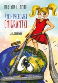 Życie pechowej emigrantki - okładka książki