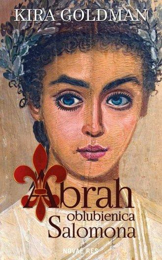 Abrah oblubienica Salomona - okładka książki