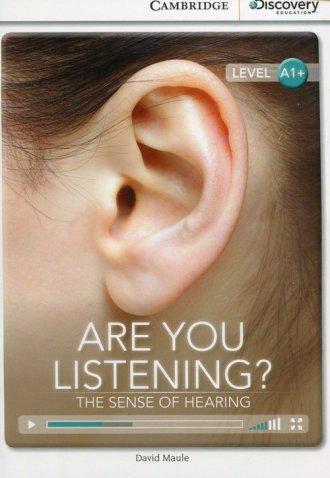 Are You Listening? The Sense of - okładka książki