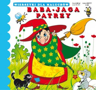 Wierszyki dla maluchów. Baba-Jaga - okładka książki