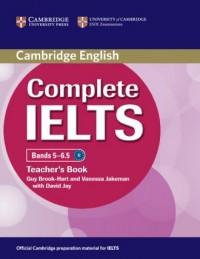 Complete IELTS. Bands 5-6.5. Teachers Book - okładka podręcznika