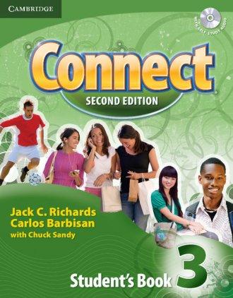Connect 3. Students Book + Self-study - okładka podręcznika