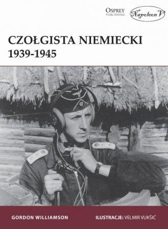 Czołgista niemiecki 1939-1945 - okładka książki