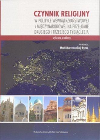 Czynnik religijny w polityce wewnątrzpaństwowej - okładka książki
