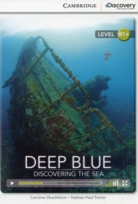Deep Blue. Discovering the Sea Intermediate Book with Online Access - okładka książki