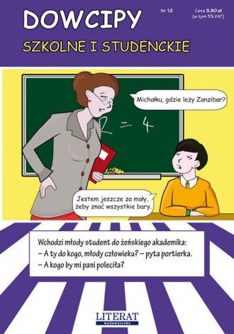 Dowcipy szkolne i studenckie - okładka książki