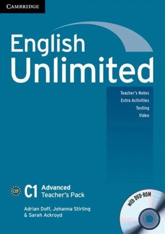 English Unlimited. Advanced Teachers - okładka podręcznika