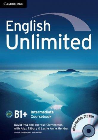 English Unlimited. Intermediate - okładka podręcznika