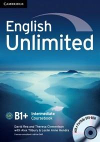 English Unlimited. Intermediate Coursebook + e-Portfolio - okładka podręcznika