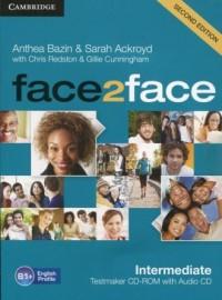face2face Intermediate Testmaker CD-ROM and Audio CD - okładka podręcznika