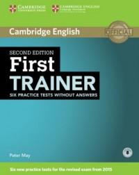 First Trainer. Six Practice Tests - okładka podręcznika