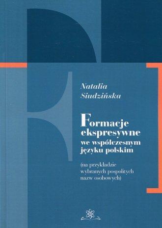 Formacje ekspresywne we współczesnym - okładka książki
